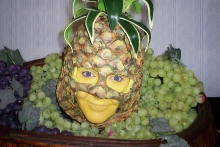pineapple head
