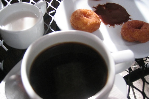 coffee-and-doughnuts