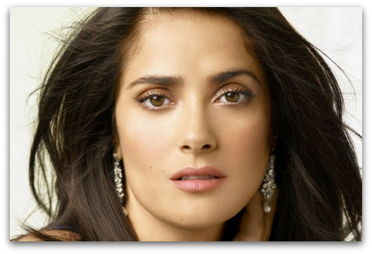 salma hayek breastfeeding an african baby boy. And yet Salma Hayek,