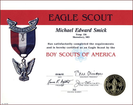 Boy Scout Eagle Invitations http://www.fitsnews.com/2009/11/25/obama-versus-the-eagle-scouts/