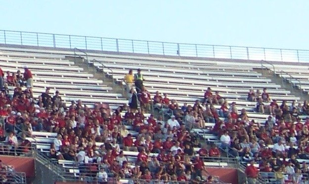 williams brice empty seats