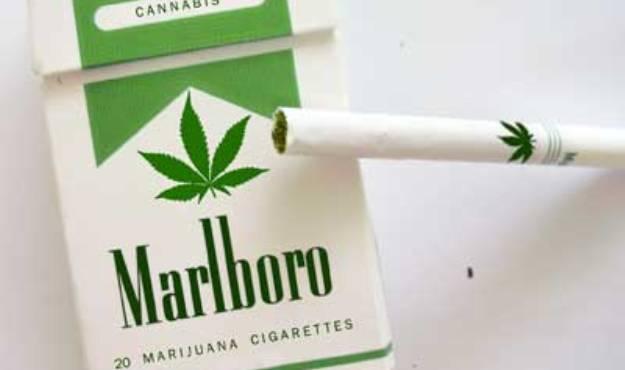 Cigarettes Marlboro super slim gold