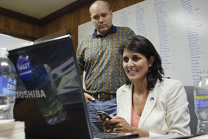 michael haley and south carolina governor nikki haley