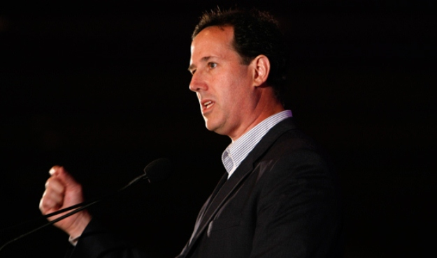 don't step in the santorum