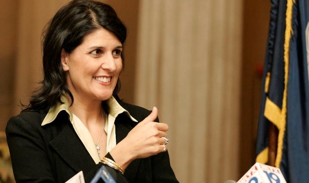 nikki haley, south carolina governor