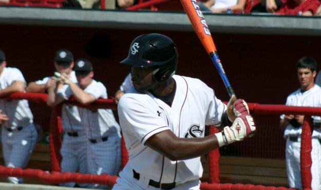 jackie bradley jr hot bat beats clemson