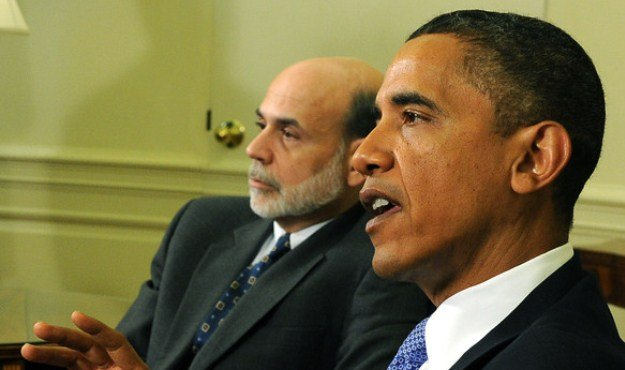 bernanke obama us growth anemic