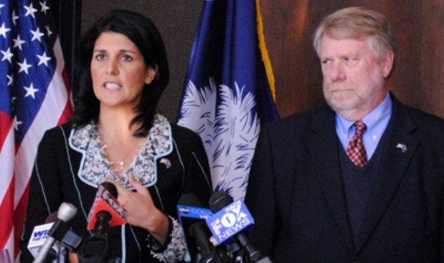 nikki haley and bobby hitt