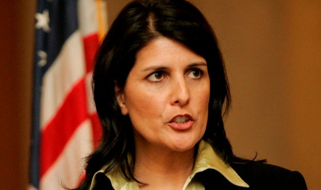 another nikki haley flip