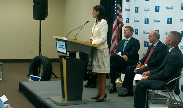 nikki haley michelin announcement
