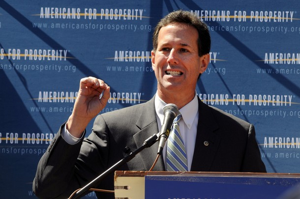Rick Santorum Running For President