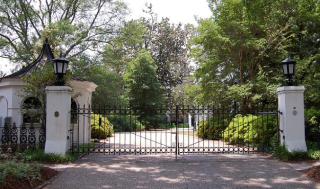 sc governor's mansion gate
