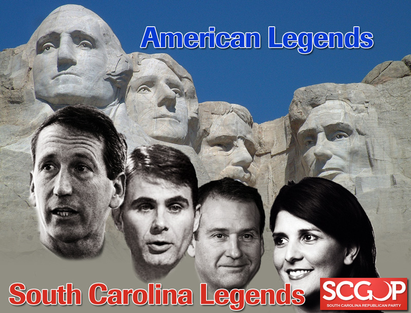 discust south carolina mount rushmore