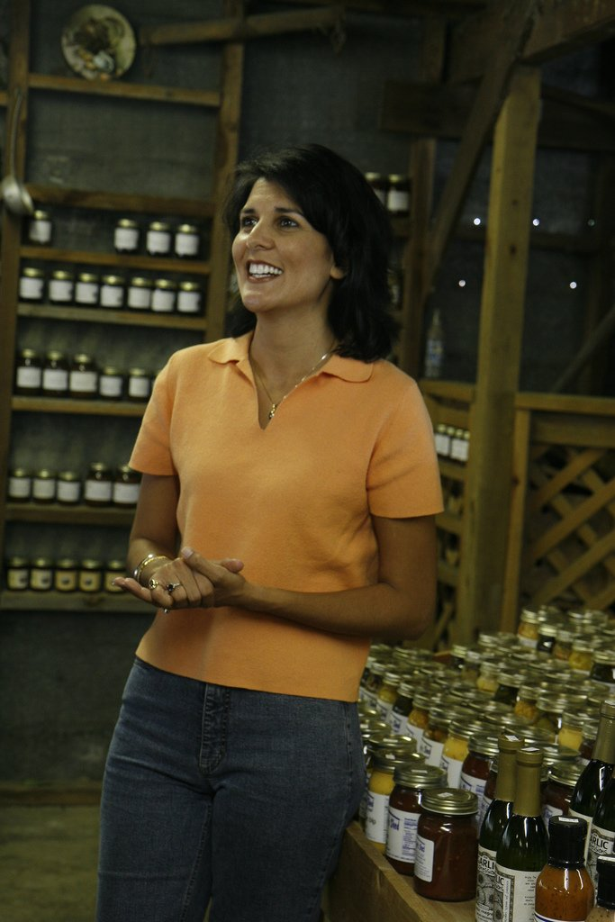 nikki haley topless