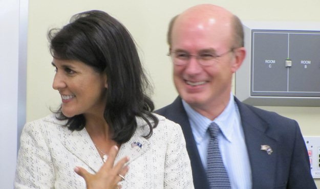 nikki haley larry martin