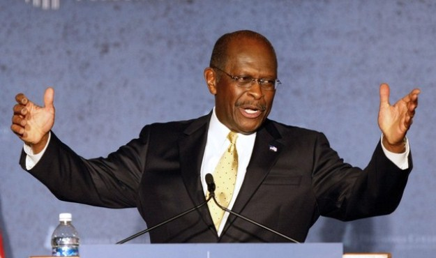 herman cain will not drop out