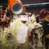 usc clemson 005 spurrier doused