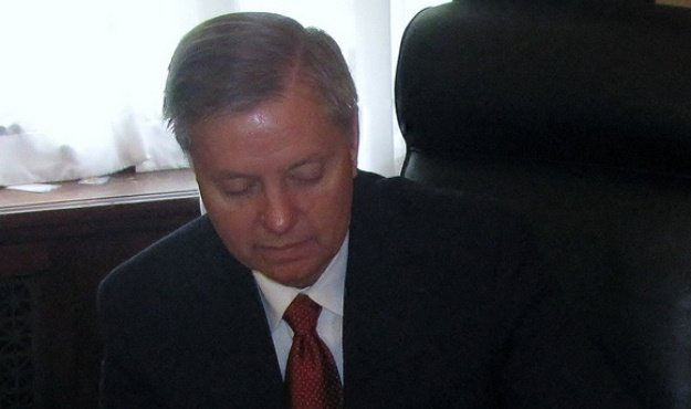 lindsey graham strange bedfellows