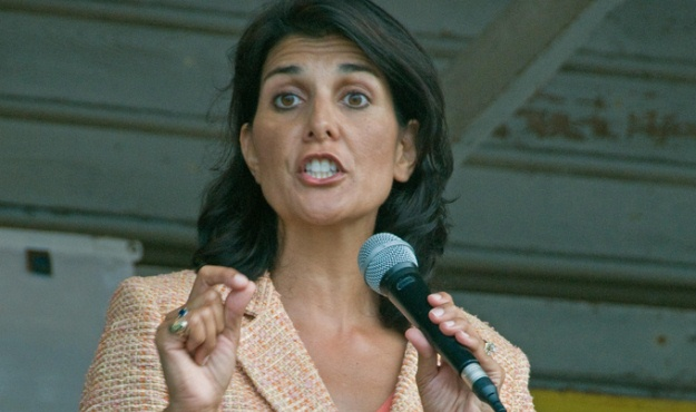 nikki haley approval ratings plummet