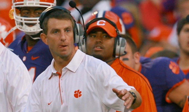 swinney spurrier drama