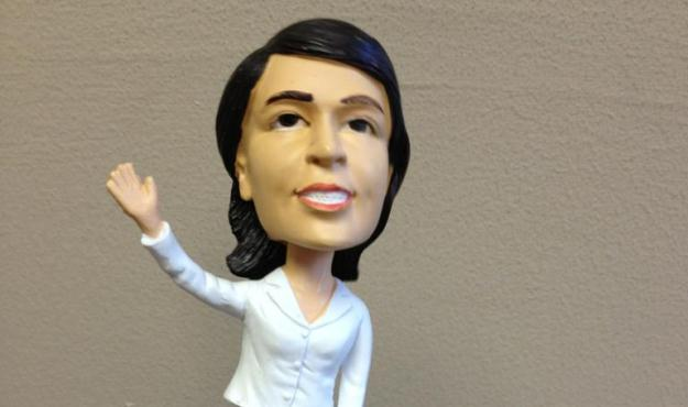 haley bobblehead cover
