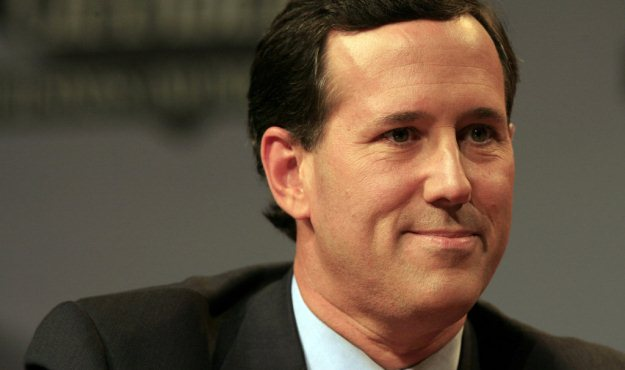 santorum responds to flyer
