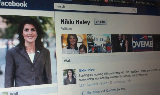 haley facebook page