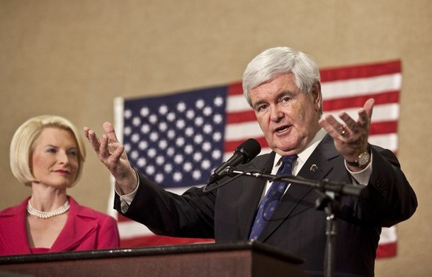 gingrich dropping out