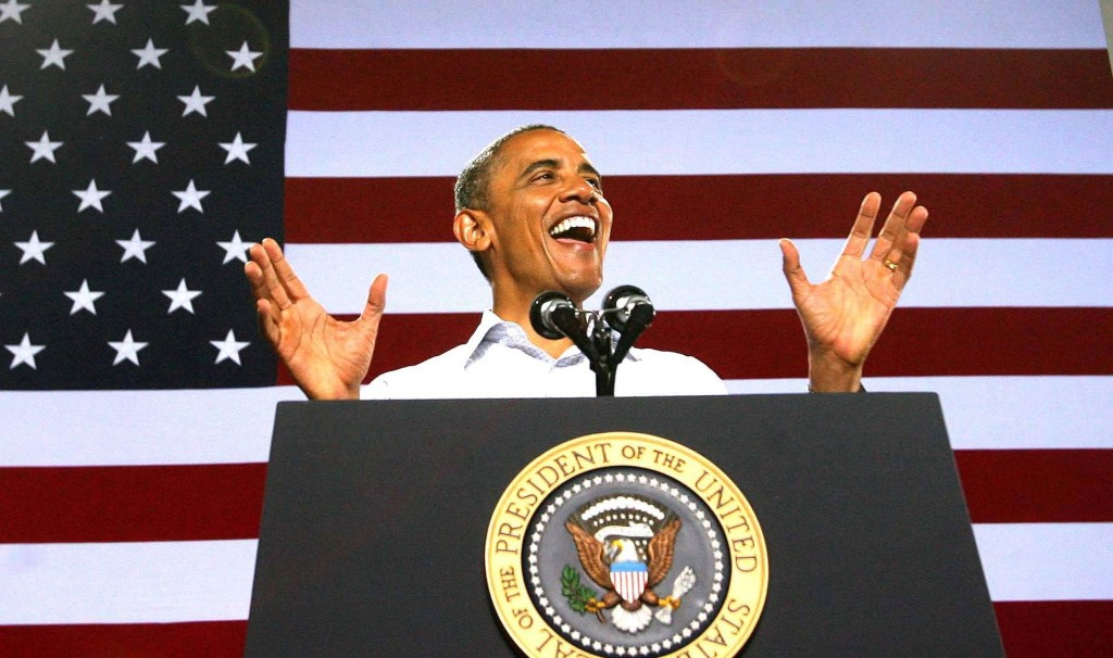 barack obama reelected