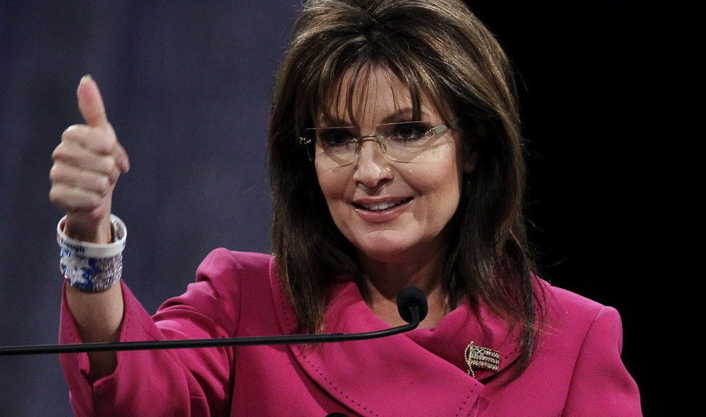 sarah palin to the rescue