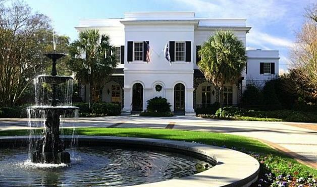 photo: house/residence of cool talented intelligent  1.4 million earning South Carolina Governor