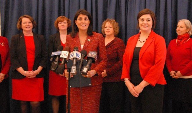 nikki haley loves women