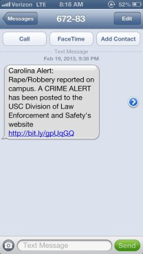 rape alert