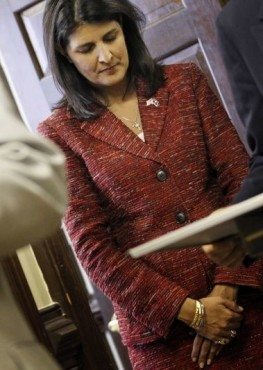 Nikki Haley: Poster girl for lack of transparency.