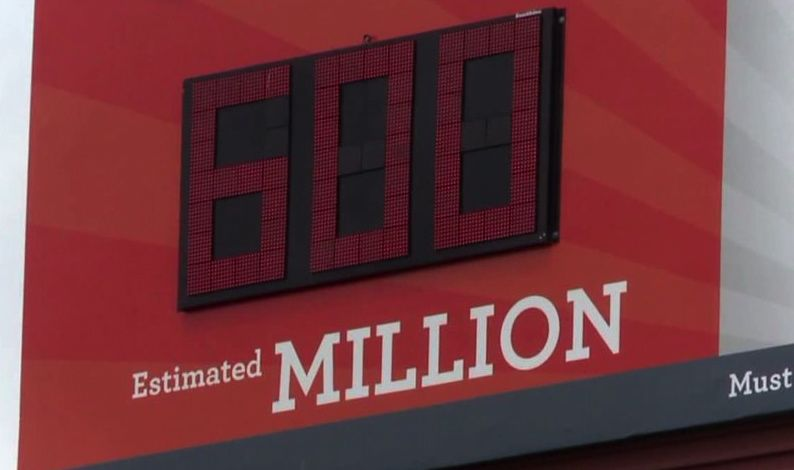 powerball 600 million