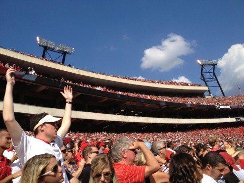 Sanford Stadium ...