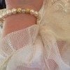 The bracelet worn by Kensington Calhoun Ravenel - daughter of Thomas Ravenel and Kathryn Calhoun Dennis - during her Christening ceremony.