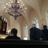 Inside the French Protestant (Huguenot) Church just prior to the Christening of Kensington Calhoun Ravenel.