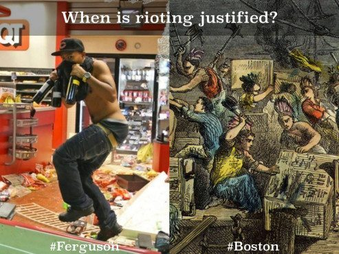 ferguson versus boston