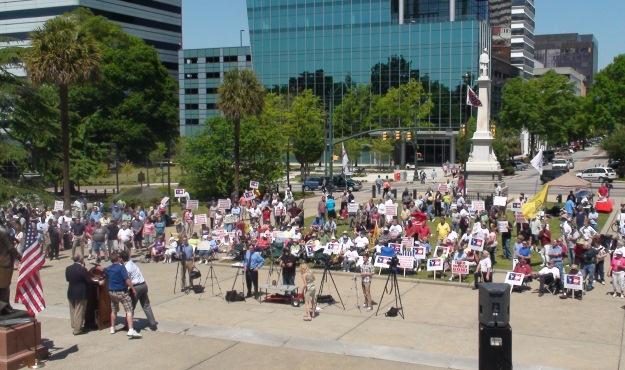 tea party rally